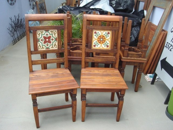 Cadeira Com Ladrilho Local Elegante Bem Embalado Só Hoje Top