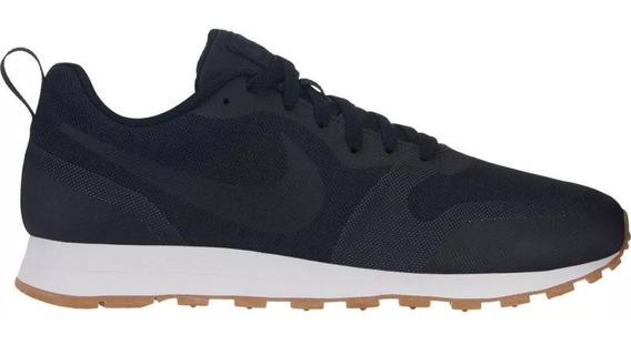 Tenis Nike Preto Masculino Md Runner Lançamento 2019 Nf