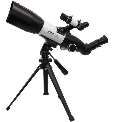 Telescópio Astronômico Terrestre E Celeste 350x60mm Tripé