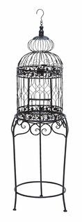 Jaula Para Aves De Diseño Decorativo Con Stand