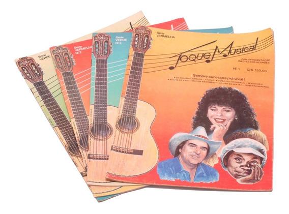 4 Revistas Com Cifras Para Violão Toque Musical