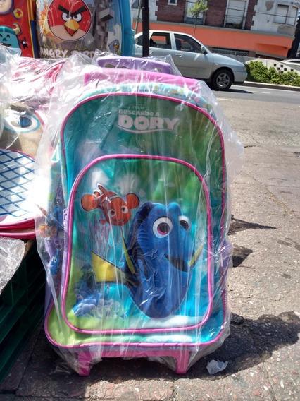 Mochila Con Carro Marca Disney Dory