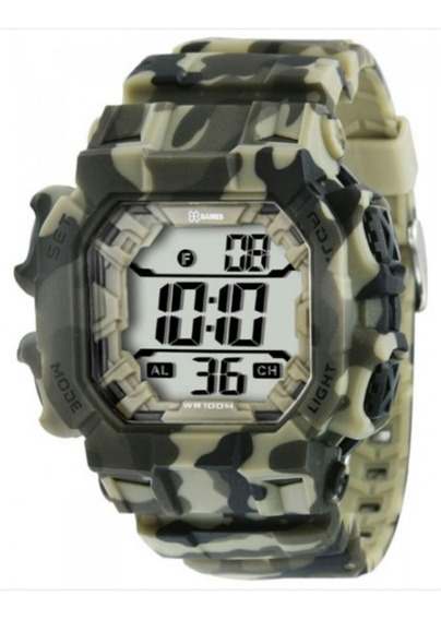 Relógio Masculino X-games Xgppd085 Digital Quartz Sport