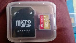 Memoria Micro Sd Huawei 512gb Con Adaptador Y Obsequio