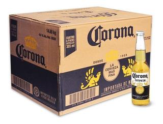 Cerveza Corona Porron 330 Cc Caja 24uni Botella Vidrio 330ml