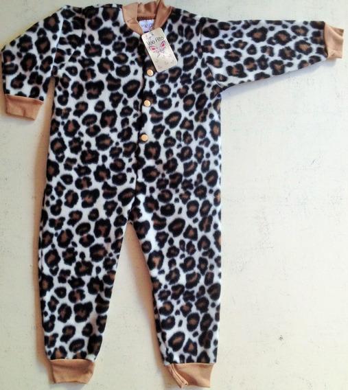 Pijama Macacão Soft Tamanho G, 1 E 2