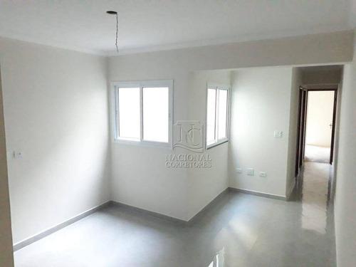 Cobertura À Venda, 100 M² Por R$ 370.000,00 - Vila Assunção - Santo André/sp - Co4856