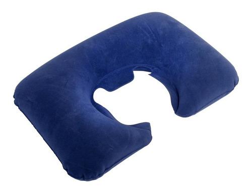 Imagem 1 de 2 de Travesseiro De Pescoço Inflável Nautika