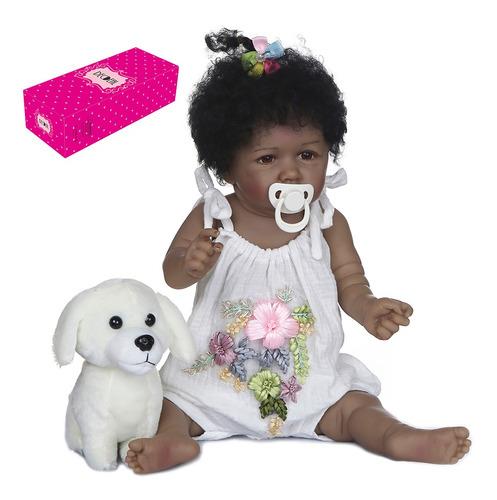 Imagen 1 de 9 de Decdeal Reborn Baby Dolls - Muñecas (55,8 Cm), Color Suave