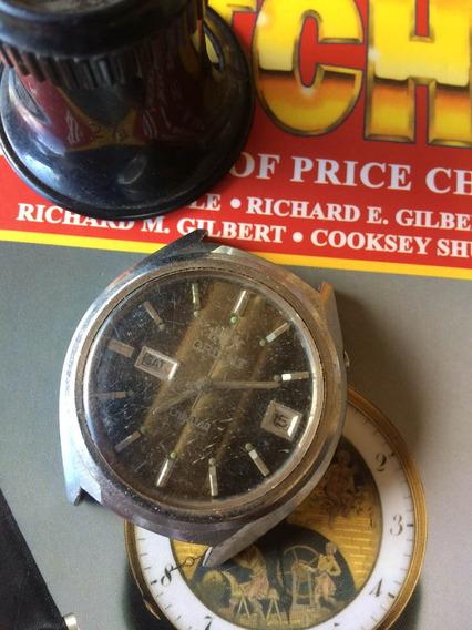 Relógio Orient Crystaq Calendário Duplo (parado) 124