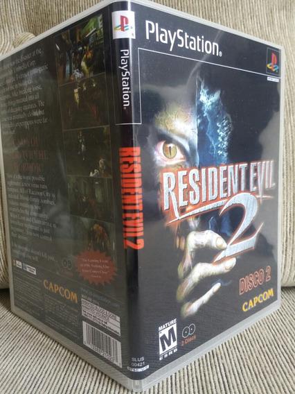 Resident Evil 2 Dublado Disco 2 Para Playstation 1-patch