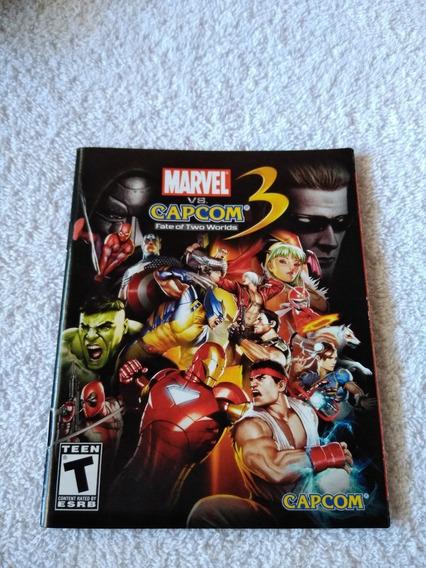Manual Do Game Marvel Vs Capcom 3 Ps3 *** Leia