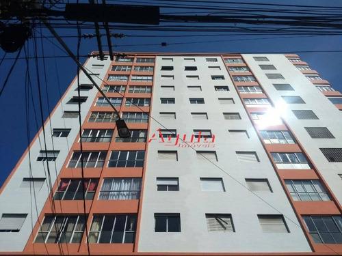 Apartamento Com 2 Dormitórios À Venda, 80 M² Por R$ 330.000,00 - Centro - Santo André/sp - Ap1297