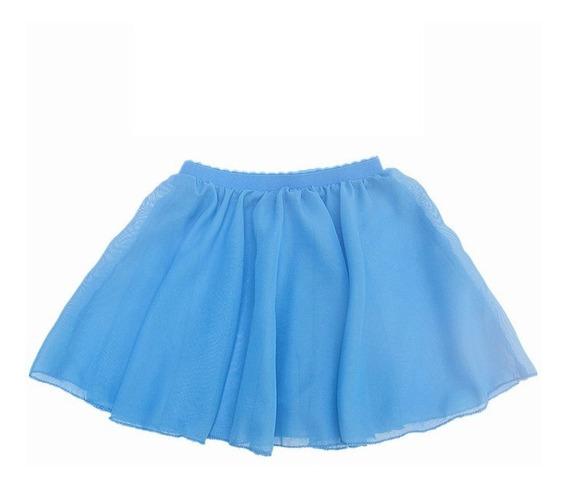 Set 10x Faldas Ballet Tutu Niña Chifón Bailarina Infantil