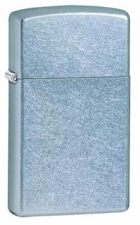 Encendedor Zippo Modelo 1607 Original Slim Cromo