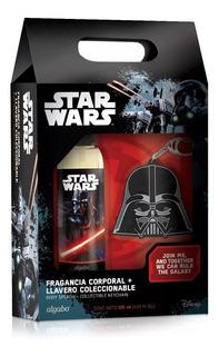 Set Regalo Para Niños Star Wars Perfume+llavero