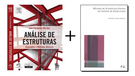 Lote Livros De Estruturas - Engenharia Civil