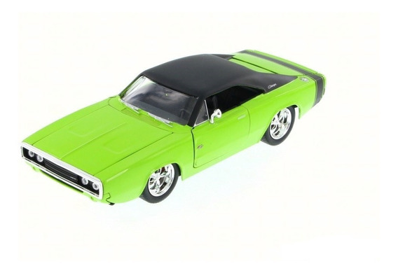 Miniatura Dodge Charger R/t 1970 Verde 1/24
