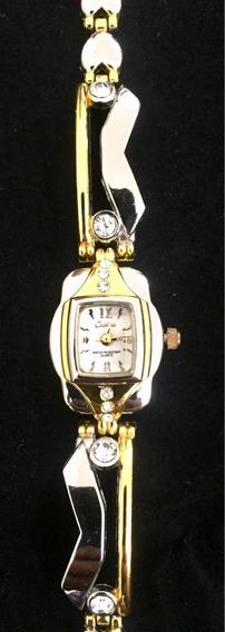 Relógio Feminino Cadina Branco Produto De Mostruário 007