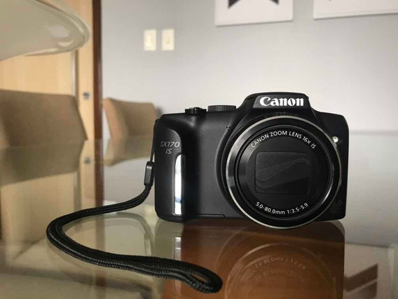 Canon Sx170 Is Powershot Serie 5x