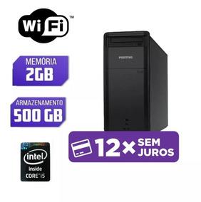 Desktop Positivo Core I5+500gb+2gb Ram Menor Preço!