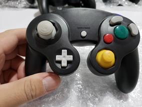 Controle Game Cube E Nintendo Wii Cor Preto