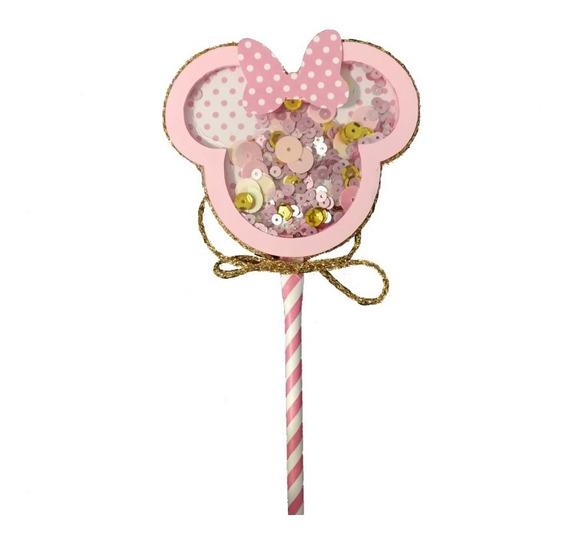 Cake Topper Adorno Para Torta Souvenir Minnie Disney