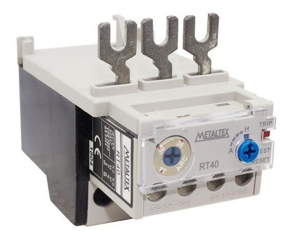 Relé Térmico Rt40-36a 24 - 36a Para Ct32-40 Metaltex