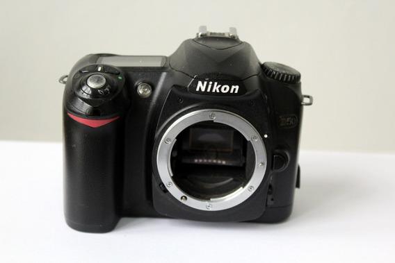Câmera Digital Dslr Nikon D50 Sucata Para Retirada De Peças