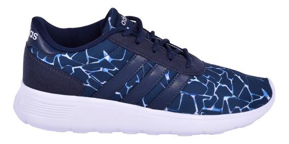 Tenis adidas Lite Race W Azul Mujer