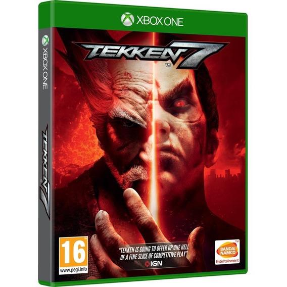 Game Tekken 7 Xbox One Disco Fisico Novo Lacrado Promoção