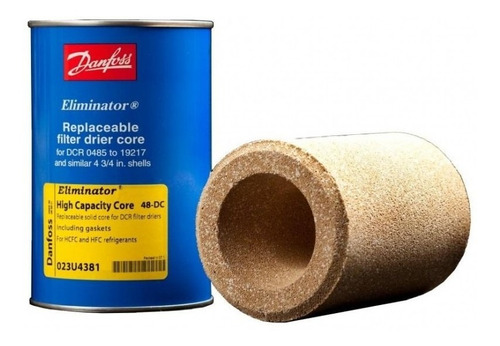 Imagen 1 de 3 de Cartucho/ Filtro Refrigeracion Industrial Solido Danfoss 48-
