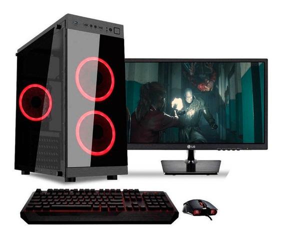 Pc Gamer Completa Intel Core I3 9100 1tb 8gb Con Wifi