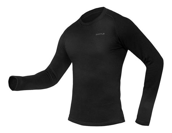 Segunda Pele Térmica Curtlo Thermoskin Camisa Manga Longa
