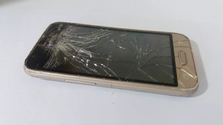 Celular Samsung J1 Mini J105b/dl Dourado Para Retirar Peças
