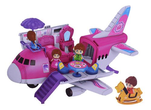 Avión Para Muñecas Con Accesorios Happy Places