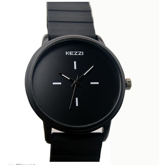 Relógio Feminino Pulseira Silicone Com Estojo Promoção Luxo