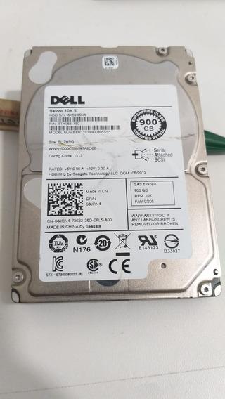 Hd Dell 900gb - St9900805ss Sas 6 Gbps Savvio 10k.5