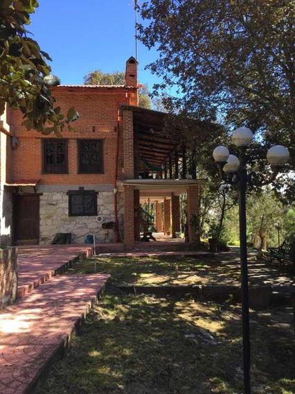 Venta Rancho En Hidalgo Con Hermosa Cabaña