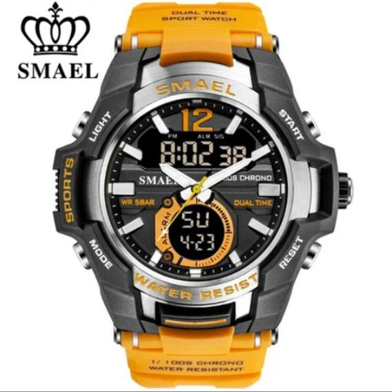 2019 Smael 50m Relógio De Pulso Dos Homens