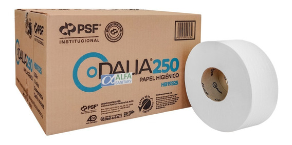Papel Higienico Biodegradable Dalia C/ 12 Rollos De 250 Mt