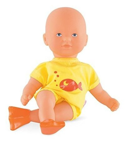 Corolle Mon Premier Poupon Mini Bath Amarillo Toy Baby Doll