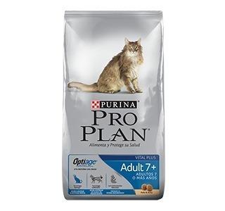 Proplan Gato Senior 3 Kg Adult +7 Optiage Para Gatos