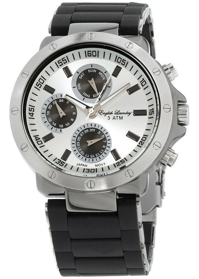 Reloj English Laundry Silver El7605bk236-322