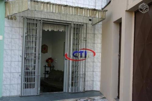 Sobrado Residencial À Venda, Rudge Ramos, São Bernardo Do Campo. - So0210