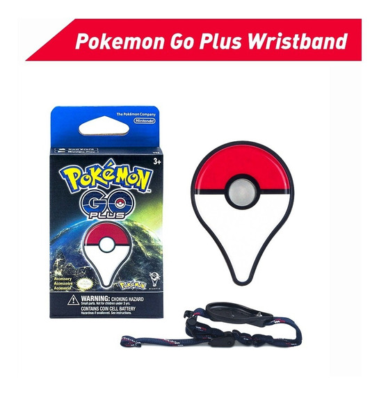 Reloj Pulsera Nintendo Pokemon Go Plus Bluetooth