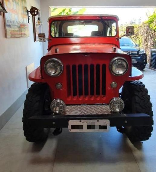 Jeep Overland Cara De Cavalo