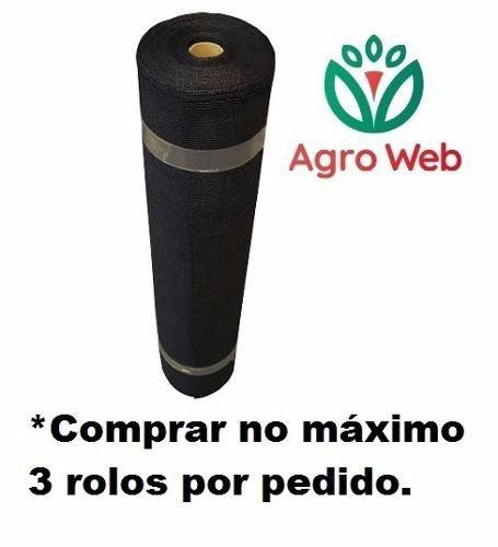 Tela De Sombreamento Tipo Sombrite 50% 2x50 M Linear Rafia