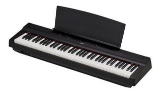 Teclado Piano Digital Yamaha P121 73 Teclas Con Peso Cuotas