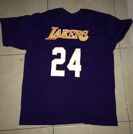Playera Lakers Kobe Bryant 24